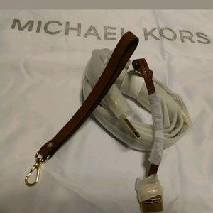 Michael Kors Shoulder Strap and Medallion